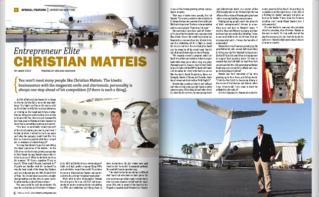 Entrepreneur Elite Christian Matteis Featured In Atlantic Ave Magazine